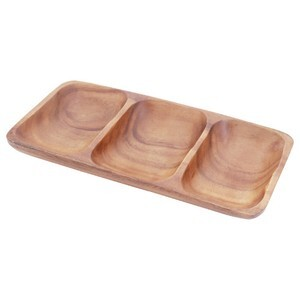 acacia rectangle tray  M 6点セット