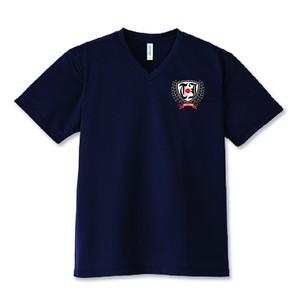 TEAM JAPAN® ドライVネックTシャツ