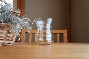 ガラス/銀の糸マーブルピッチャー(ジンジャー)/空西あかね
