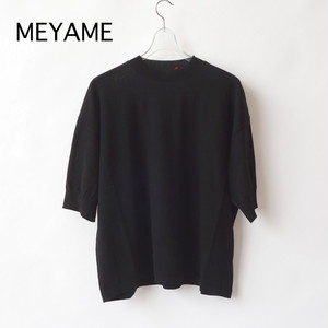 MEYAME/メヤメ・Cotton Knit Tee