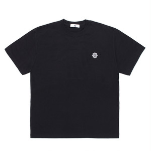 MASTERMIND LOGO EMBROIDERY T-SHIRT / BLACK