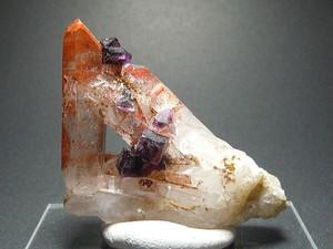 蛍石&水晶 / フローライト&クォーツ (S#4) - Fluorite & Quartz