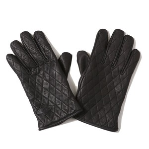 RUDE GALLERY BLACK REBEL OUTSIDERS LEATHER GLOVE