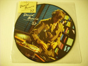 "【7"" PICTURE DISC】DAVID BOWIE / DJ"