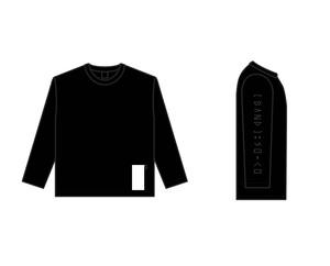 [BAND]:SO-CO ロングスリーブシャツ(黒)【受注生産商品】9/11締め切り・10月上旬発送予定