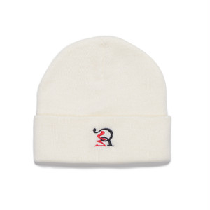受注商品 RUEED LOGO KNIT WATCH CAP / WHITE