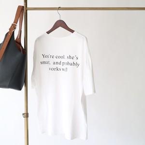 Back Lettering T-shirt