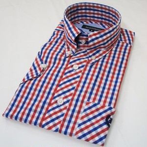 HOUSE GINGHAM  B.D. SS SHIRT