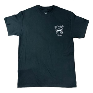 Chilly Source Drunk T-shirt (Cup motif)【Black】