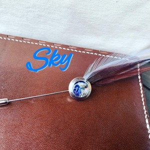 『Fancy工房』オリジナルハットピン【Sky】