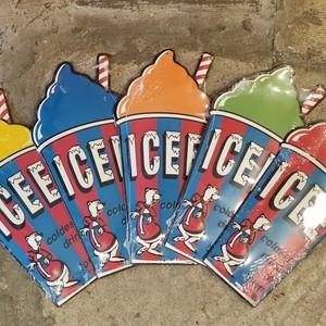 ICEE CUP メタルサイン