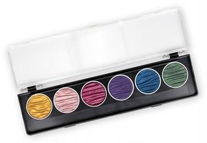"""FINETEC coliro Pearl Color Set """"Rainbow"""""""