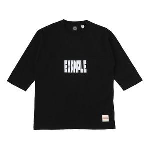 EXAMPLE FOOTBALL TEE / BLACK