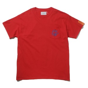 Black Weirdos Paris Pocket T-Sh(Red)