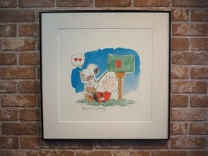 品番37190 スヌーピー 絵 Snoopy Art 世界で500枚しかない限定品