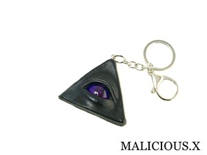 reptiles(A) eye ring charm / violet