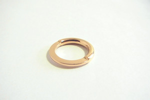 GOLD Two Faced RING
