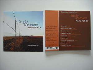 【CD】DOUG ROCHE / SIMPLE MEASURES   WALTZ FOR CJ