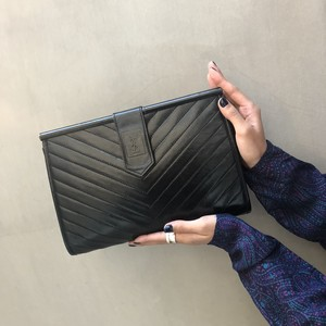 Yves Saint-Laurent clutch bag