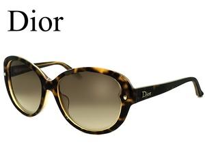 Dior サングラス レディース ディオール pondichery-f xltcg クリスチャンディオール Christian Dior CD アジアンフィット フォックス キャットアイ
