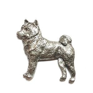 ピンブローチ:柴犬 (GGH-464F)