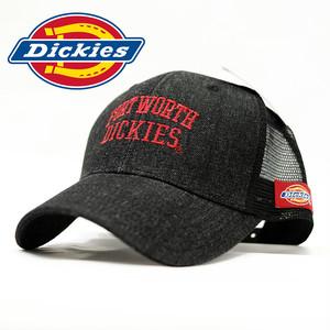 メッシュキャップ 帽子 メンズ ディッキーズ Dickies Denim Mesh Cap ブラック ストライプ 17954200-80 ワークブランド 553b55608225