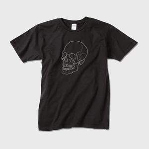 downward 55 The Skull Beneath the Skin TEE(Black)