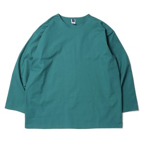 SMOKE T ONE COTTON L/S T-SH(Turquoise Green)
