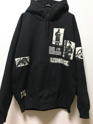 PSYCHOWORKS NO MASTER patch hoodie