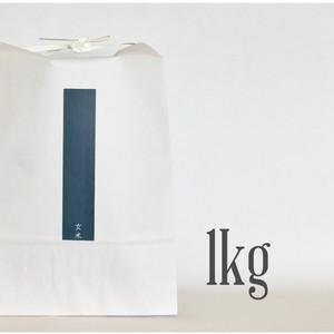 新米 玄米  ひのひかり 1kg