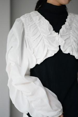 BELPER / cotton boil bolero (white)