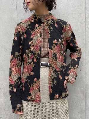 (TOYO) flower pattern cardigan