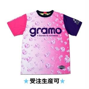 プラクティスシャツ「sparkling」(ピンク/P-045)☆受注生産可☆
