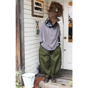【nunuforme】nf11-618-006 ヘムタックカーブパンツ