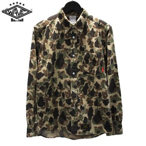 WTAPS 15AW DUCK HUNTER CAMO フランネルシャツ