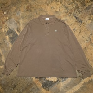 00s Lacoste Long sleeve Polo