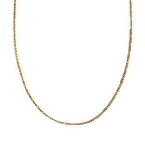 【14K-3-11】16inch 14K real gold chain necklace