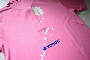 ヨロン島ポロシャツピンク