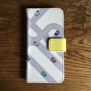 iPhone 7 手帳型ケース【迷路】