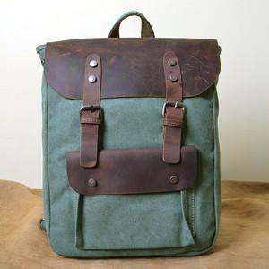 Vintage Canvas Backpack Rucksack Canvas Bag (YYB99-9855908)