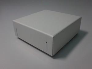 チップボール紙 ギフト箱(白)6個入