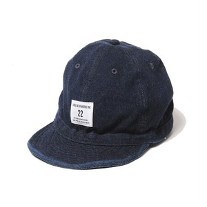 "VIRGO / ヴァルゴ | "" WASHED BALL CAP "" - Navy -"