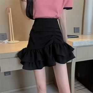 volume frill skirt 3color