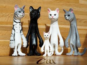 The Cat 200% 【白猫、黒猫、ロシアンブルー】【送料無料】