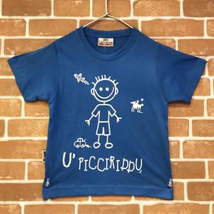 Item094 イタリア シチリア島から来た ファミリーでお揃いのTシャツ Picciriddu (可愛い男の子) ベビー用