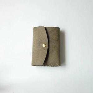tri-fold wallet - gri - プエブロ