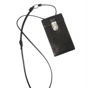 213ABG04 Leather cell phone small bag 'cartable' ショルダーバッグ スマホショルダー