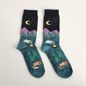 "LADY'S SOCKS ""NIGHT CAMP"""