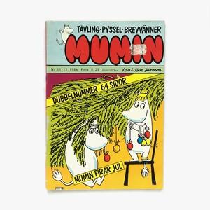 トーヴェ・ヤンソン「Mumin - Nr.11/12 1984(漫画雑誌ムーミン 1984年11&12号)」《1984-01》
