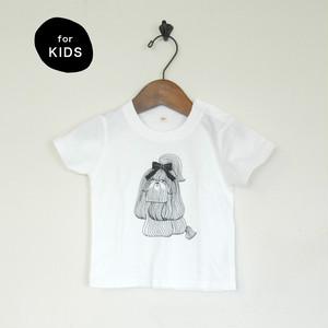 Kids T-shirt/ Ribbon Dog